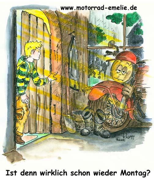 Gastebuchbilder Das Kleine Motorrad Emelie